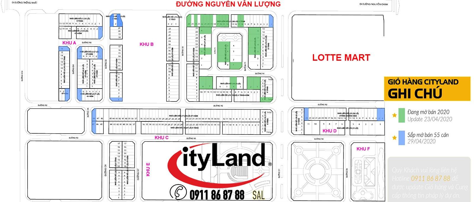 Gio hang 30 nha cityland mo ban 2020