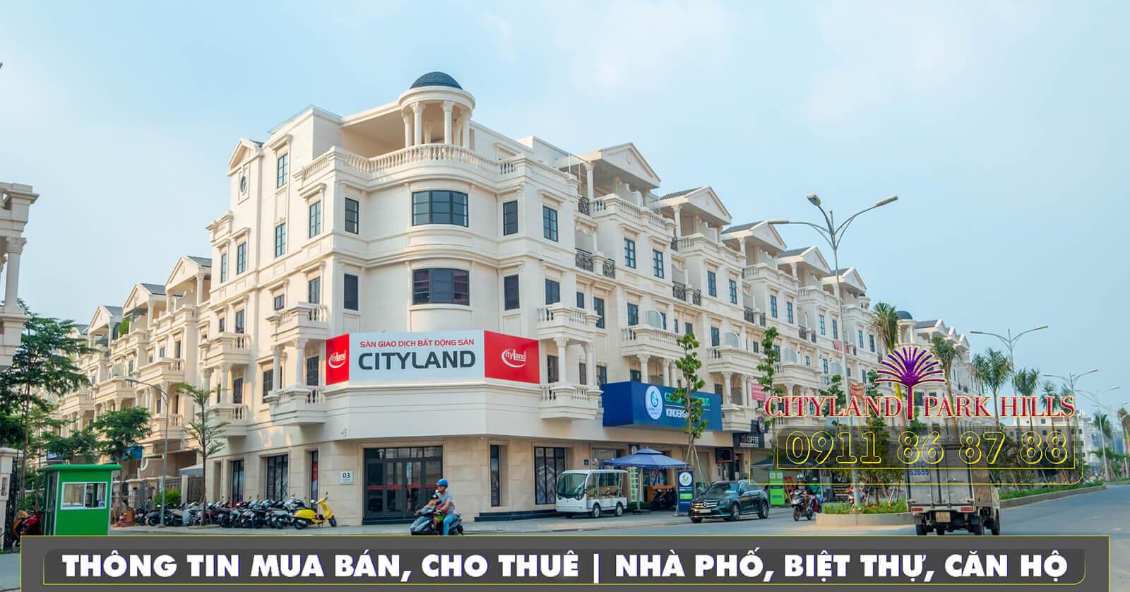 Nhà phố Cityland Nguyễn Văn Lượng Lotte Mart - đường 30m