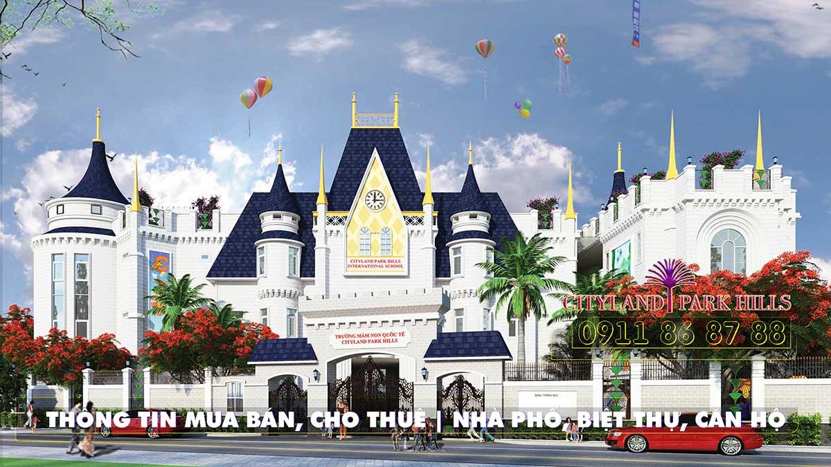Trường mầm non quốc tế Cityland Gò Vấp