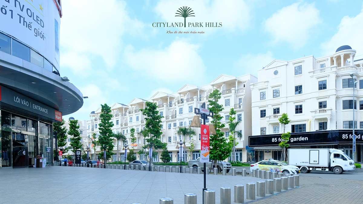 Chung cư Cityland Gò Vấp - Lotte Mart