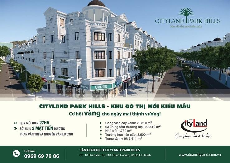 chon Biet thu Cityland Park Hills ban se duoc song nhu tai Chau Au