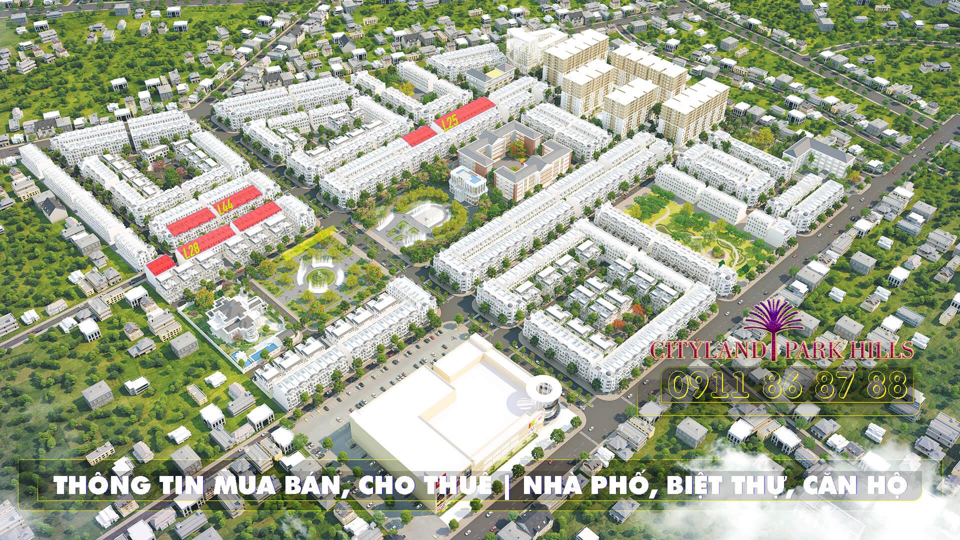 cityland mo ban nha pho cityland park hills cuoi nam 2019