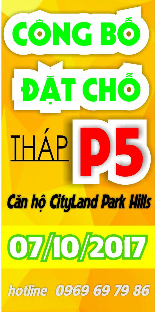 Mở bán Căn hộ Cityland Park Hills tháp P5