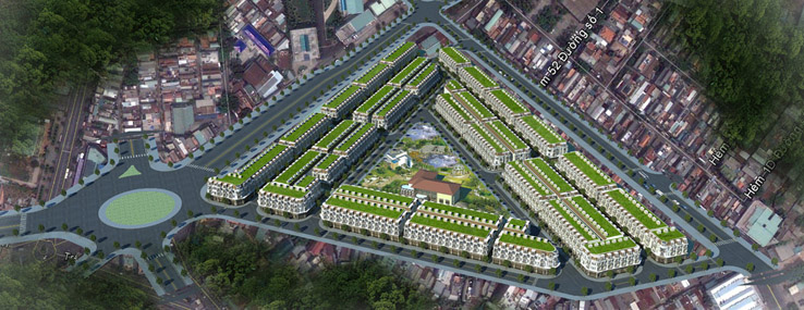 ban do quy mo cityland center hills