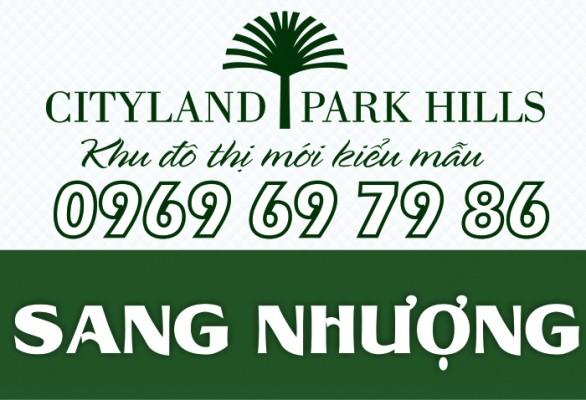 Bán căn hộ Cityland Park Hills lầu 9, 3PN view đẹp
