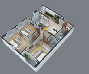 Park Hills Apartment 1 - CH3.02.16