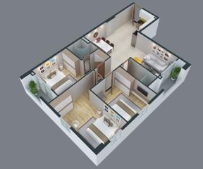 Park Hills Apartment 1 - CH3.02.17