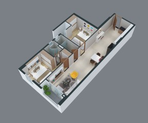 Park Hills Apartment 1 - CH3.02.20