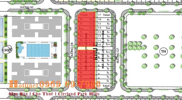 Bán nhà phố thương mại Cityland đối diện chung cư Park Hills