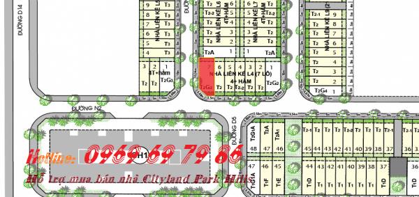 Bán nhà phố góc đường Cityland Park hills L4 - 07 - Nam-Tây