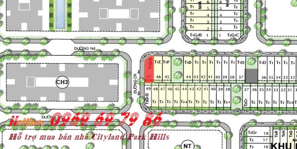 Bán nhà phố góc đường Cityland Park hills L24 - 47 - BẮC-TÂY